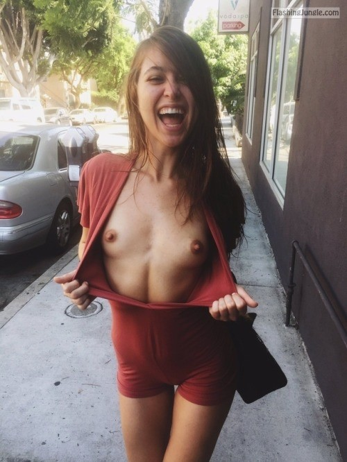 Real women flashing