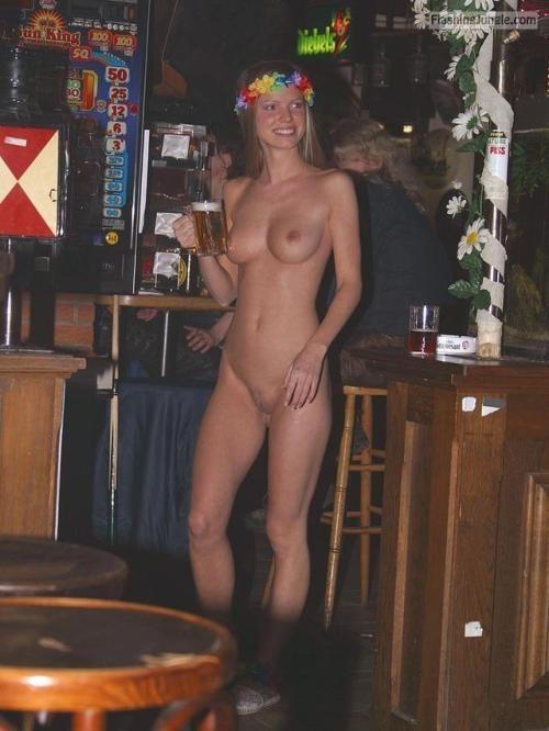onlyonen: model: Marketa Follow me for more public... public nudity