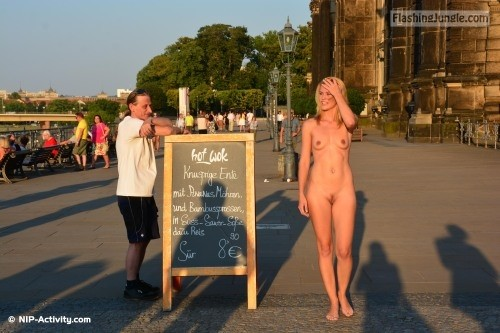 Follow me for more public exhibitionists:... public nudity