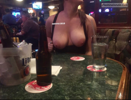 Photo public flashing boobs flash