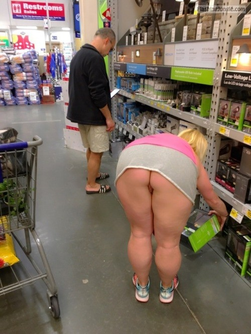 Big ass walmart mom at
