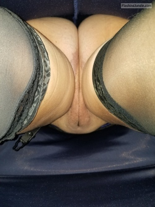 A view up my dress I love this view, thanks for submitting... upskirt no panties mature