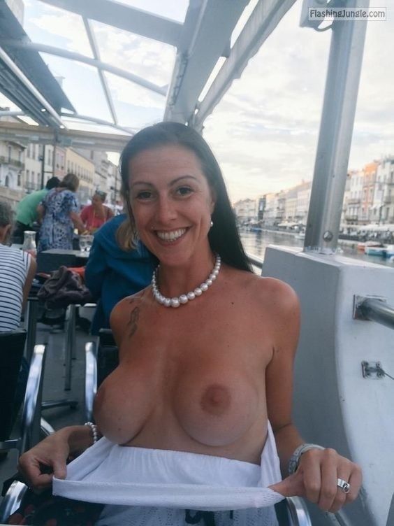 Pinterest public flashing howife boobs flash
