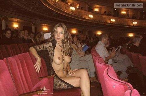 Pinterest public nudity public flashing boobs flash