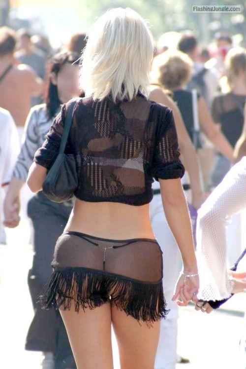 Pinterest voyeur public flashing no panties
