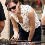 Emma Watson nude nipple slip