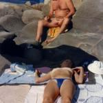 topples wife and old fart big boner beach