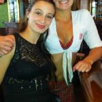 Pantyless daughter and mother photo