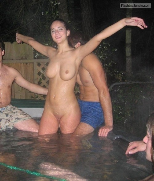 Swinging couples in Jacuzzi public nudity howife