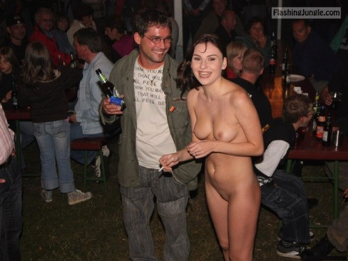 Chatting with strangers public nudity
