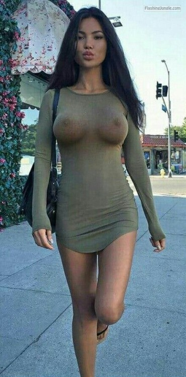 Erect nipples in public girls