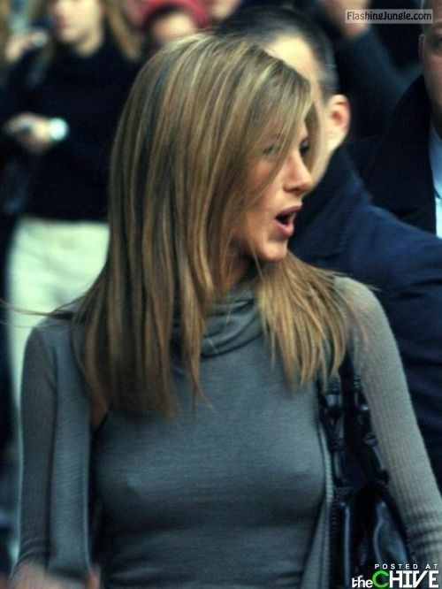 Jennifer Aniston nipples voyeur pokies pics