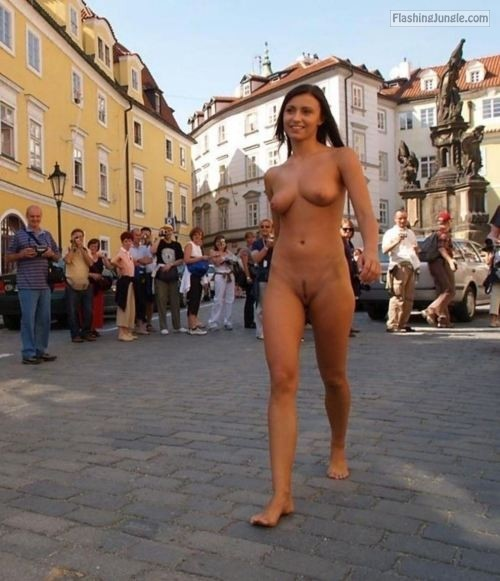 Congratulate, this naked on th streets can