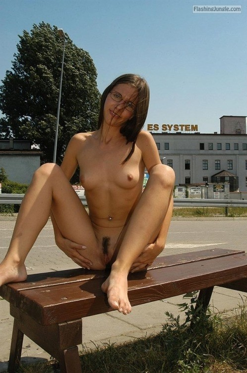 Young tiny shaved pussy