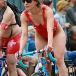 thenetty: Fremont Solstice 2017 – red swimsuit