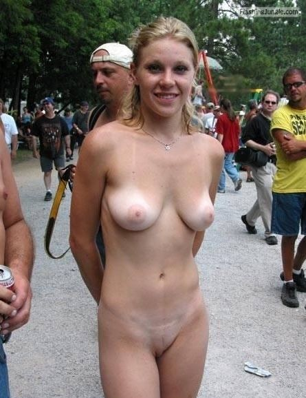 equus428:She loves showing off that sweet body Follow me for... public flashing