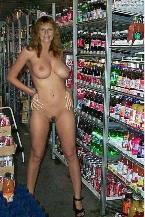 My Husband made me 'TOTAL FLASH' at the store, like... public flashing