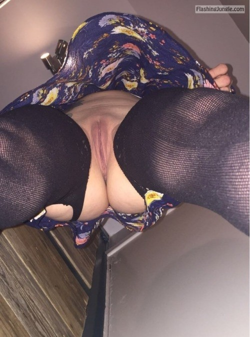 gagging4it82: Sir told me I couldn't wear pants to day when I... no panties
