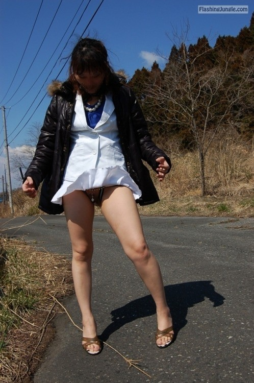 Photo no panties
