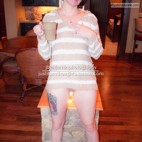 justsumthoughts: more from the archives…cozy fun   3, 4 no panties
