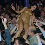 enf-findings:This crowd surfing had got a little out of hand….