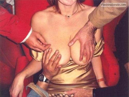 Groped at the adult theatre… public flashing