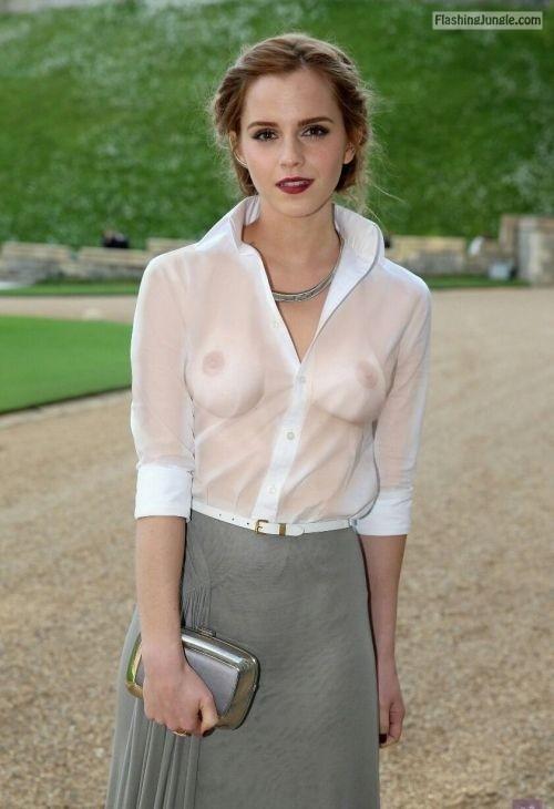 wardrobemalfunction:Emma Watson   Seethu public flashing