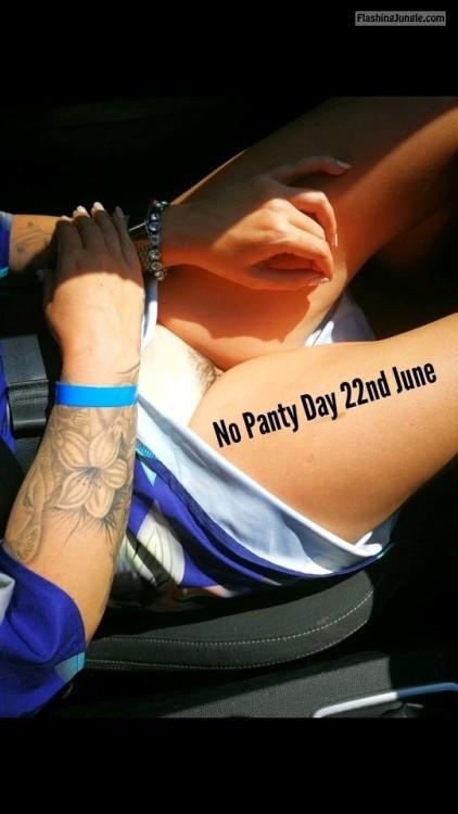 richaz69: HAPPY NO PANTY DAY 2018 no panties