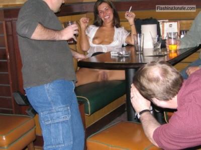 Photo public flashing