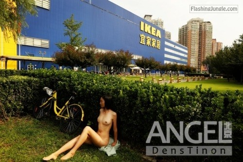 shyshower: BY BEIJING ANGEL public flashing