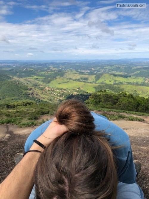 kaaona999: Mountain Views public flashing