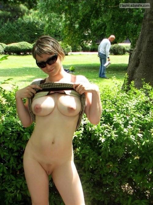 ilovemesomemilfs: sexy fuckin whore public nudity