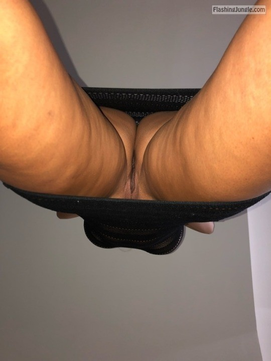 hornywifealways: Different view of me 😉 upskirt
