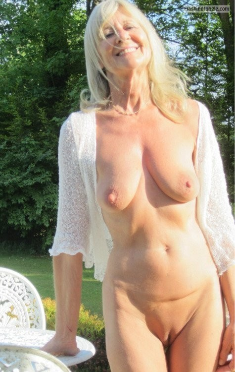 Mature Blonde Huge Tits