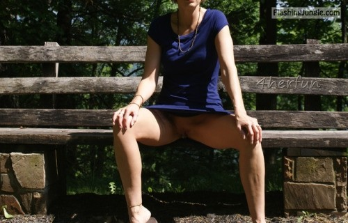 Not Park bench upskirt no panties congratulate, simply