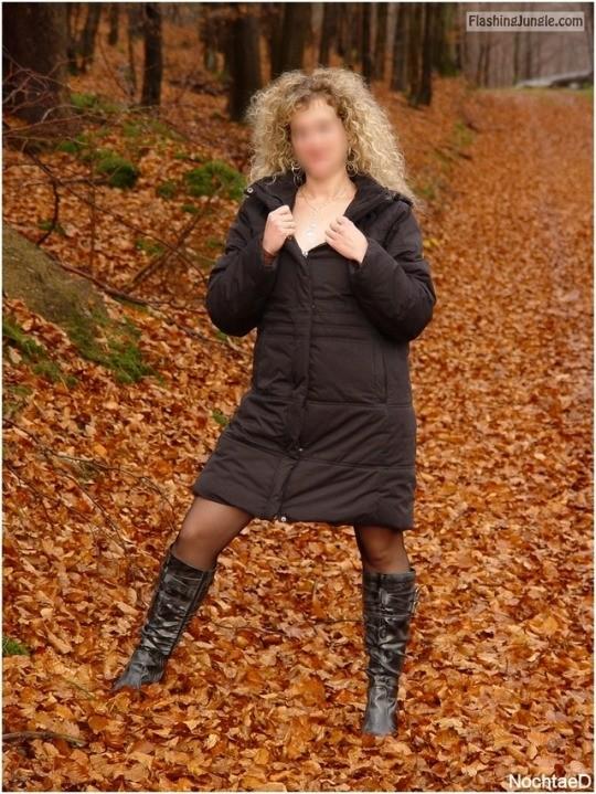 alistergee: Herbstlich 😘💕 no panties