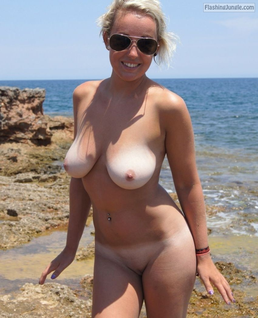 Follow Me For More Public Exhibitionists Nude Beach -7032