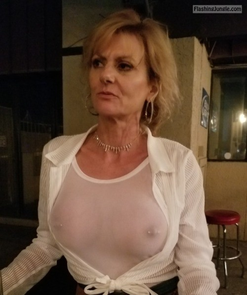 Grannies handsome boobs piercing