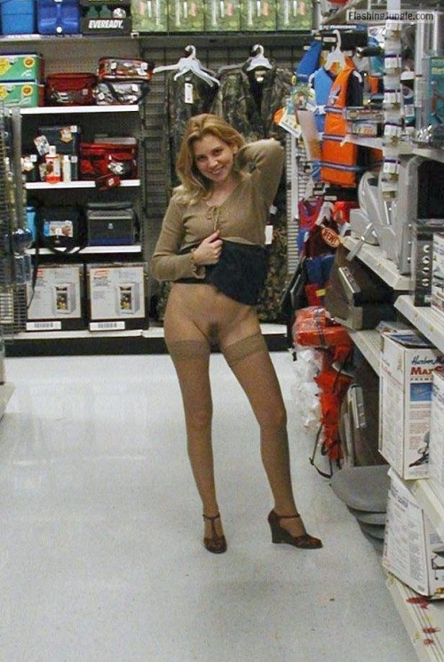 Come wife nude at walmart