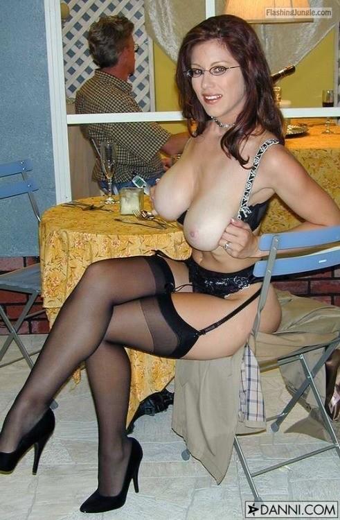 Slim Milf With Big Natural Tits Sexy Underwear Bitch -3957