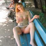 questionsandacts: Pasties at the beach!! She has such a…