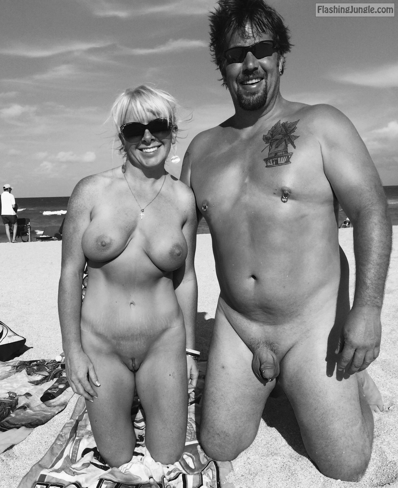 Amateur nudist couples
