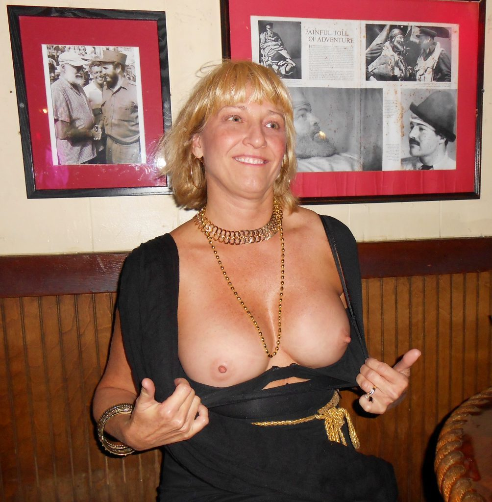 A Milf blonde with large boobs and hard nipples voyeur milf pics boobs flash