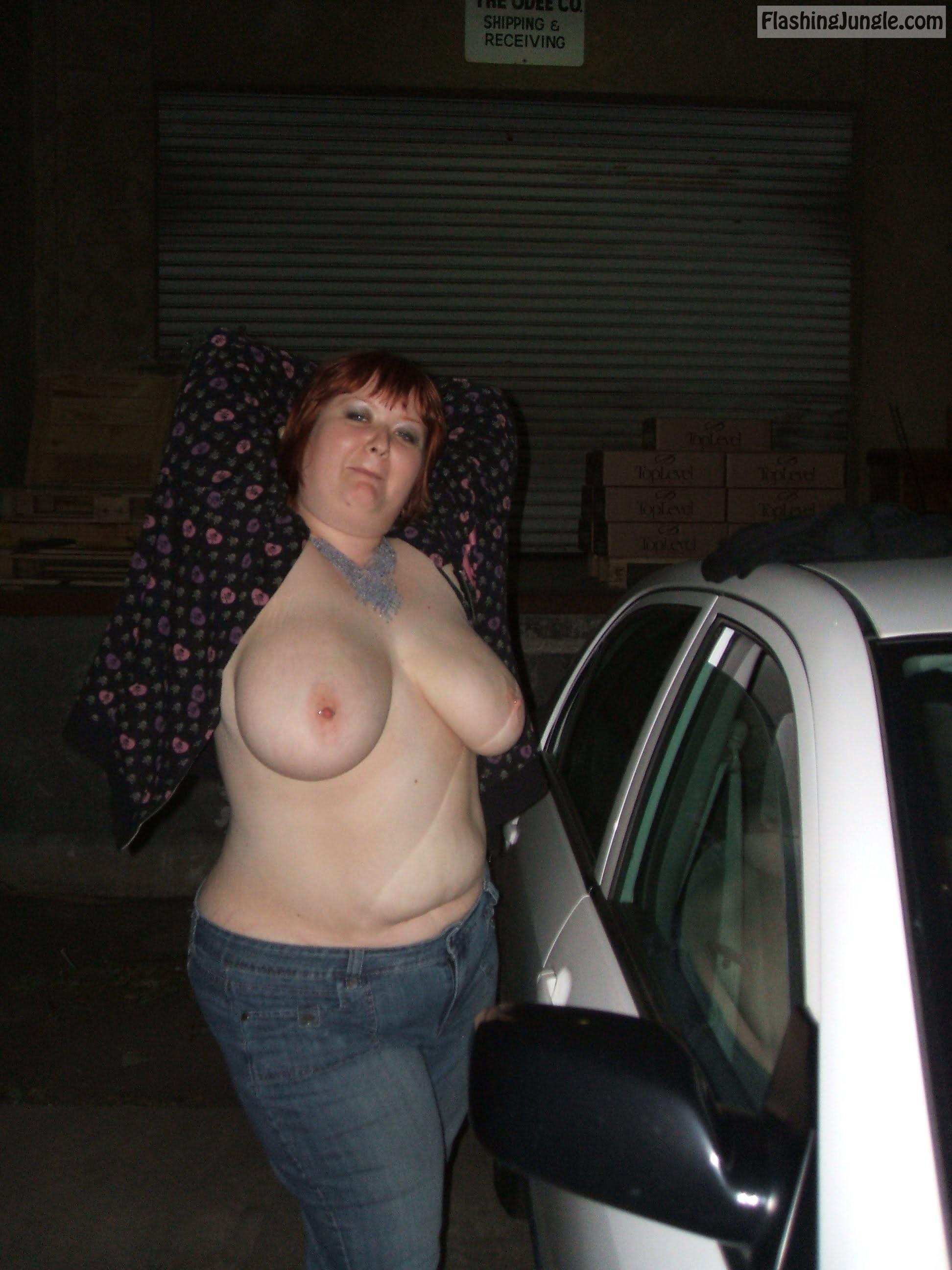 Ebony Fucked Parking Lot