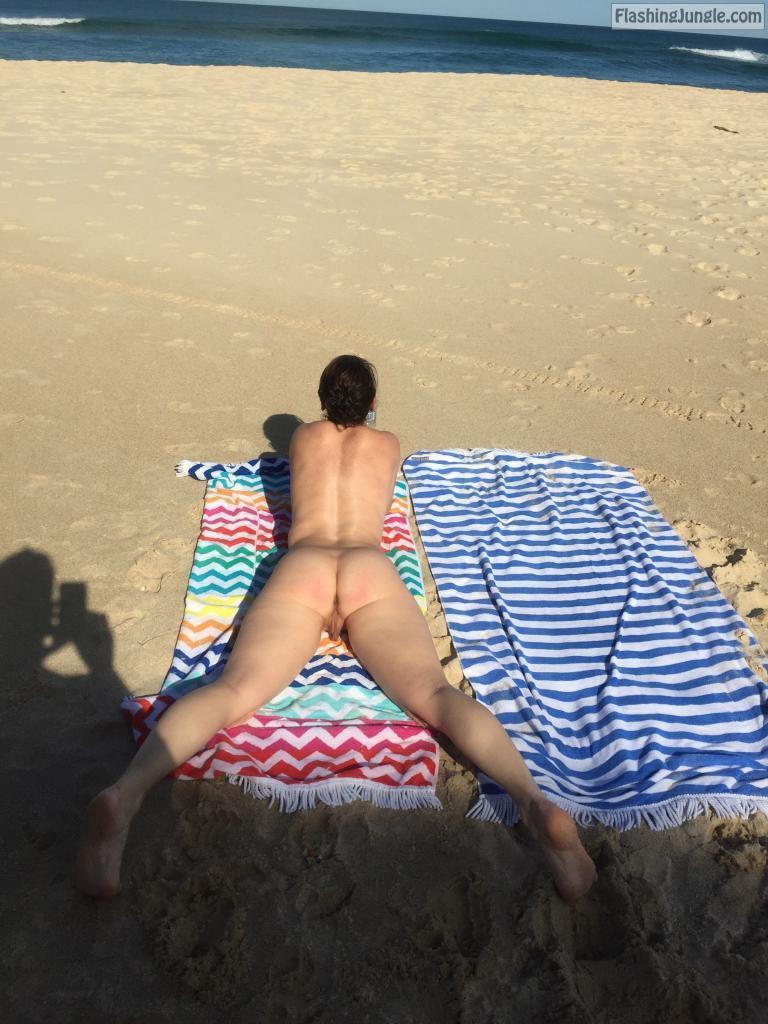 Sharing Nude Wife On Public Beach Hotwife Pics, Milf -4477