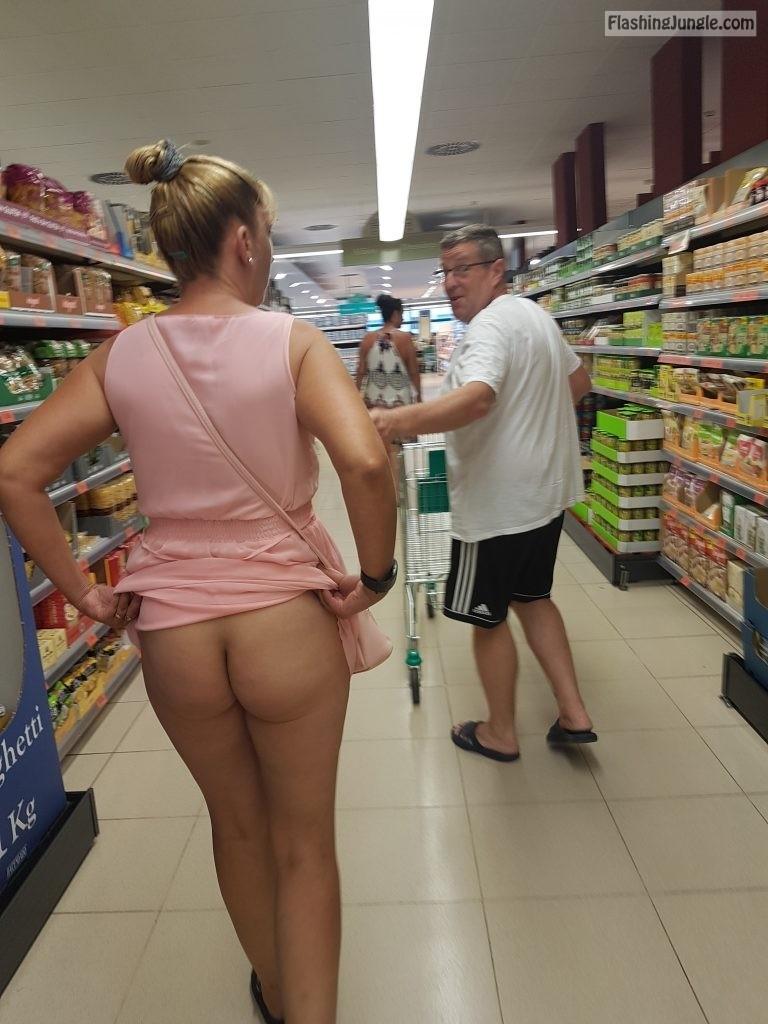 More Of Me Flashing Pantyless At Supermarket - Kittyd Ass -1781
