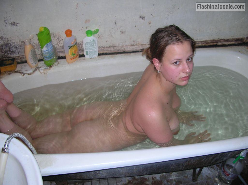 Nude bathtub Bath Nude