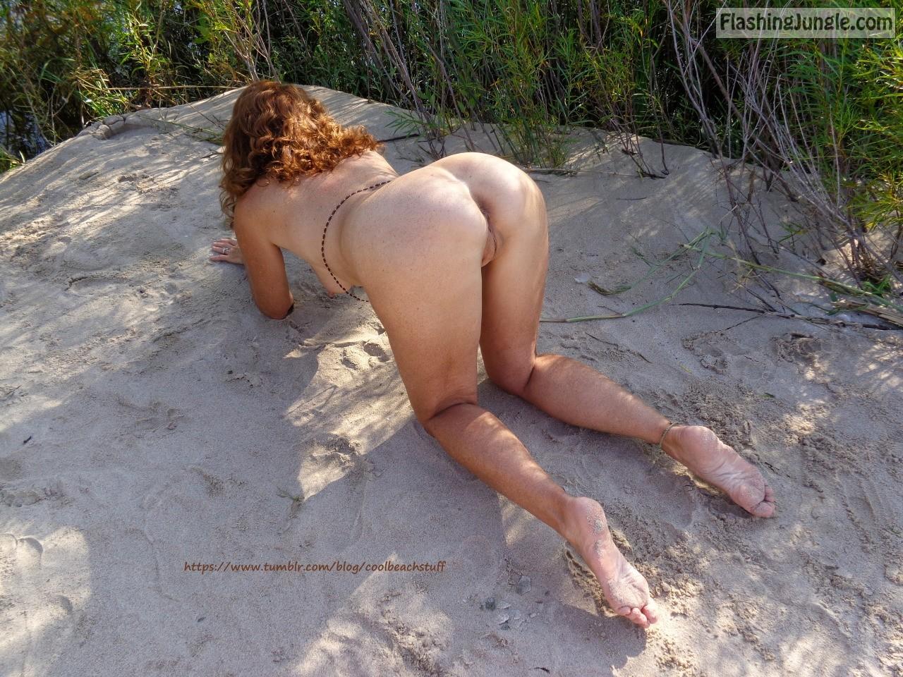 hotwife beach