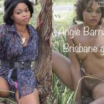 African Girl Clothed Nude – Angie Barnaba