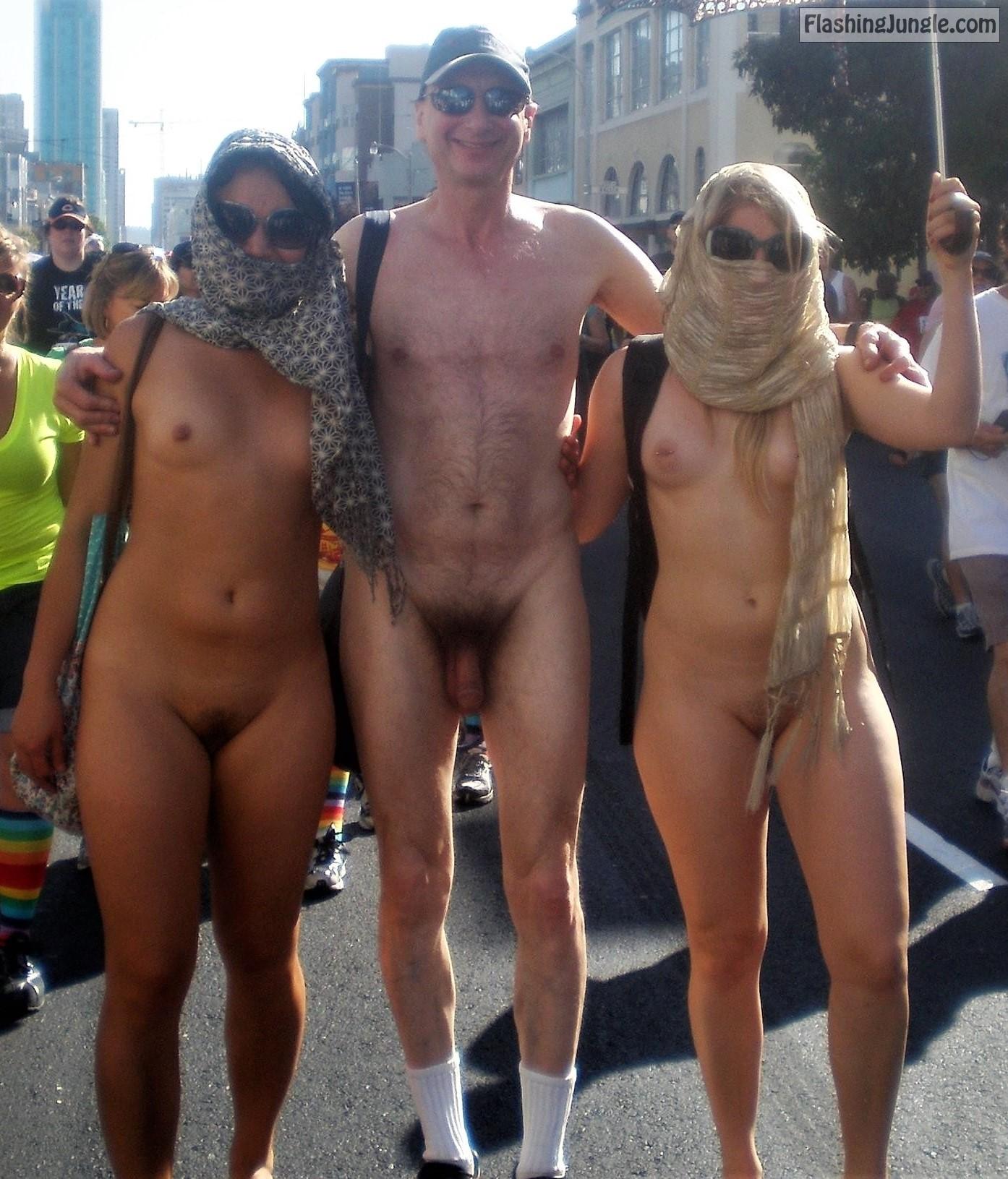 In public nudity List of